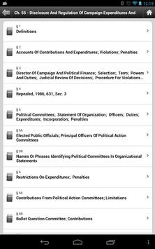 General Laws of Massachusetts apk screenshot