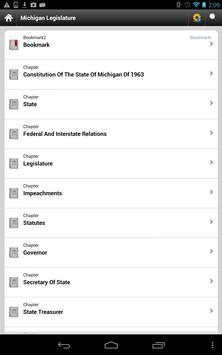Michigan Laws, MCL poster