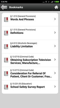New Jersey, NJ Statutes & Laws apk screenshot