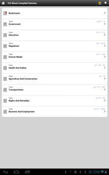ICS Illinois Statutes (Lite) apk screenshot