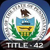 PA Judiciary Judicial Title 42 icon