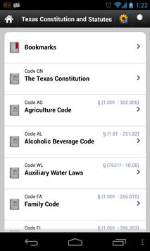 Texas Laws (TX state code 84) poster