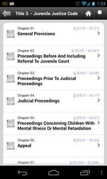 Texas Laws (TX state code 84) apk screenshot