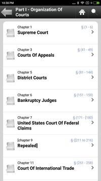 Title 28  Judiciary & Judicial apk screenshot