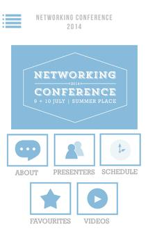 Networking Conference JHB poster