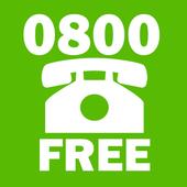 Call 0800 Free icon