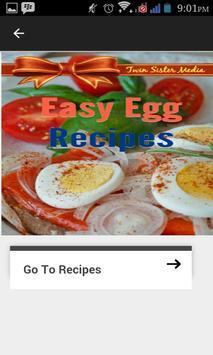 Easy Egg Recipes apk screenshot