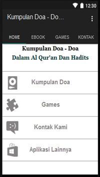 Kumpulan Doa Harian Islami poster