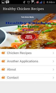 Healthy Chicken Recipes apk screenshot