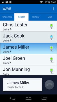 WAVE Mobile Communicator PTT apk screenshot