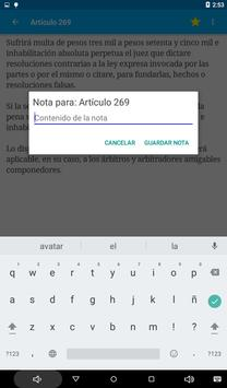 Código Penal de Argentina apk screenshot