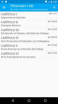 Ley de Trabajo Venezuela LOTTT apk screenshot