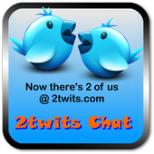 2 twits chat icon