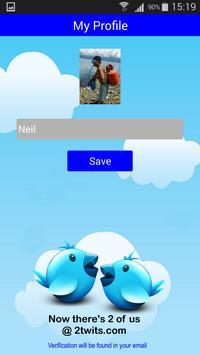 2 twits chat apk screenshot