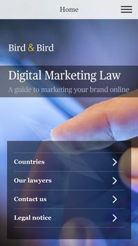 Digital Marketing Law poster