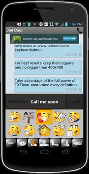TXTIcon 3.7 Texting made easy apk screenshot