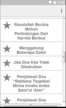 Do'a Dzikir Dan Wirid Islami apk screenshot