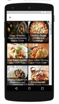 Italian Recipes apk screenshot