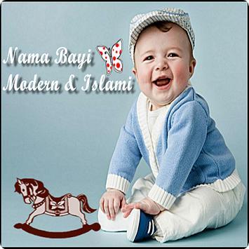 Nama Bayi Modern Dan Islami poster