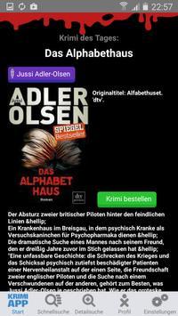 Krimi-App poster