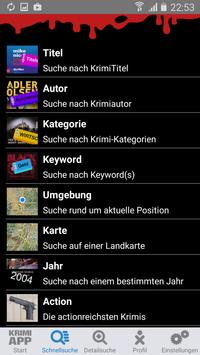Krimi-App apk screenshot