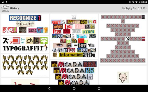 TYPOGRAFFIT apk screenshot