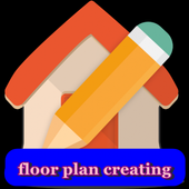 floor plan creating icon