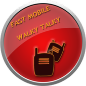 Fast Mobile Walky talky icon