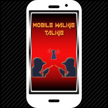 Fast Mobile Walky talky poster