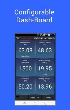 Tachyon Droid Hybrid (OBD2) apk screenshot