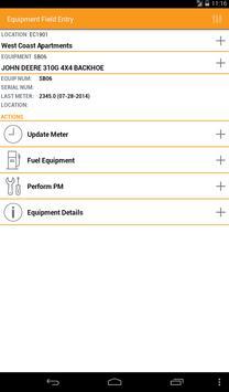 Equipment Field Entry apk screenshot