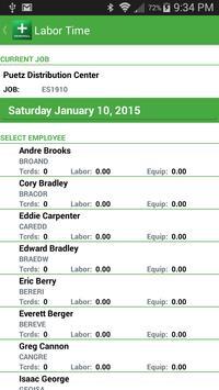 Payroll Time Entry apk screenshot