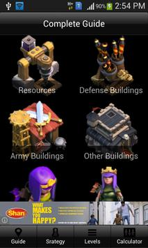 Guide for COC Free poster