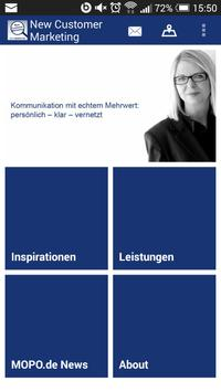 New Customer Marketing poster