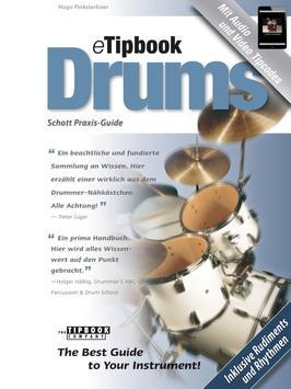 eTipbook Drums DE poster