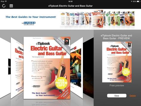 eTipbook Electric Guitar apk screenshot