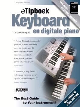 eTipboek Keyboard en dig piano poster