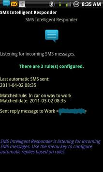 SMS Intelligent Responder-Free poster