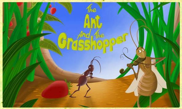 Ant and Grasshopper Storybook apk screenshot
