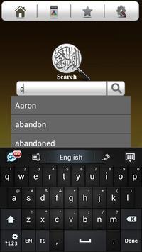 Quran Search apk screenshot