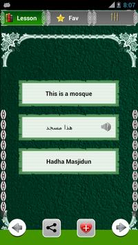 Learn Arabic Education apk screenshot