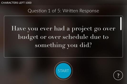 TTI Questionnaire apk screenshot