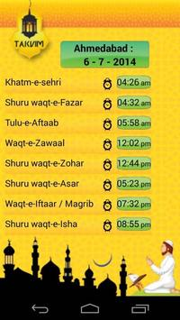 Noorani Takvim (for Gujarat) apk screenshot