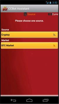 CryptoCurrency Bot apk screenshot