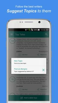 TaleHunt short stories & tales apk screenshot