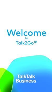 Talk2Go TalkTalk Business poster