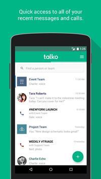 Talko poster