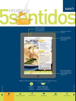 Recetario 5 Sentidos apk screenshot