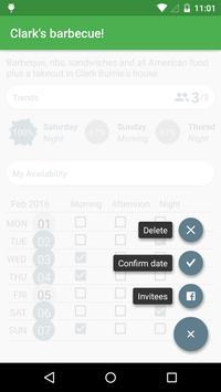 WeekOut - Event planner apk screenshot