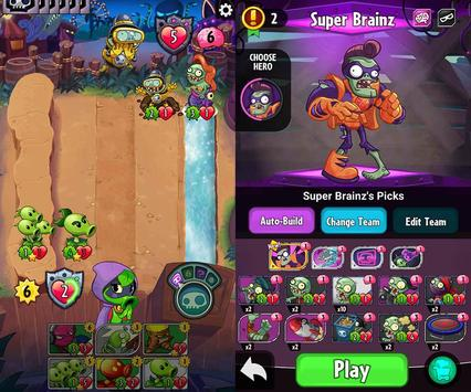Guide Plants vs Zombies Heroes apk screenshot